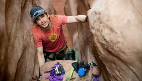 James Franco in «127 Hours»