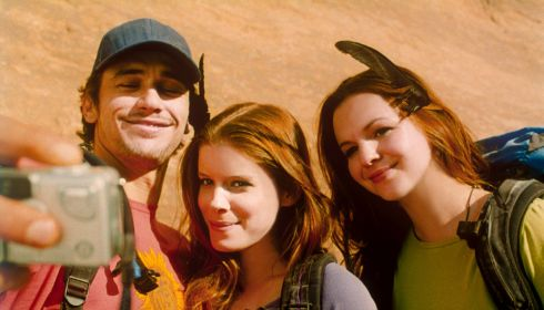 James Franco, Kate Mara und Amber Tamblyn in «127 Hours»