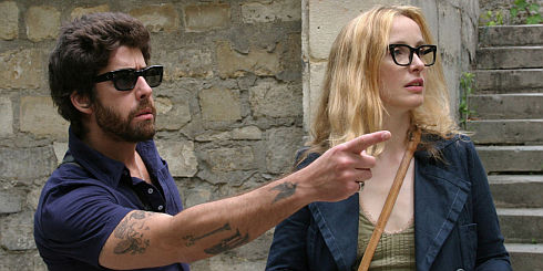 Adam Goldberg und Julie Delpy in «2 Days in Paris»