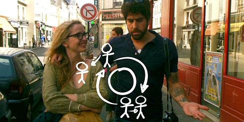 Julie Delpy und Adam Goldberg in «2 Days in Paris»