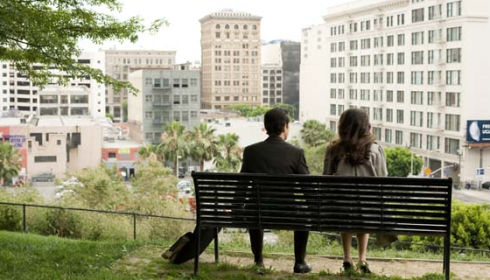 Joseph Gordon-Levitt und Zooey Deschanel in «(500) Days of Summer»