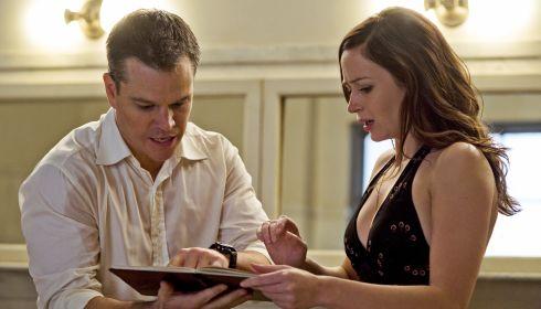 Matt Damon und Emily Blunt in «The Adjustment Bureau»