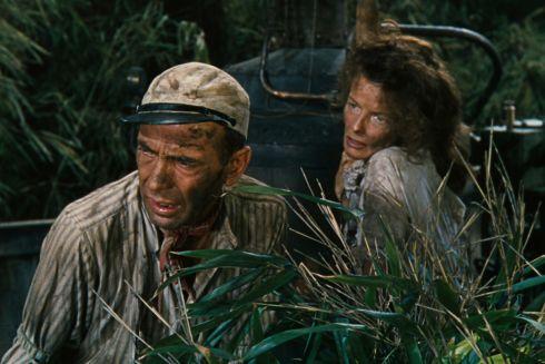 Humphrey Bogart und Katharine Hepburn in «The African Queen»