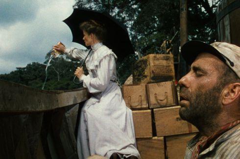 Katharine Hepburn und Humphrey Bogart in «The African Queen»
