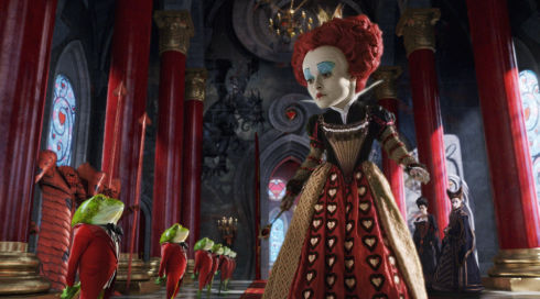 Helena Bonham Carter in «Alice in Wonderland»