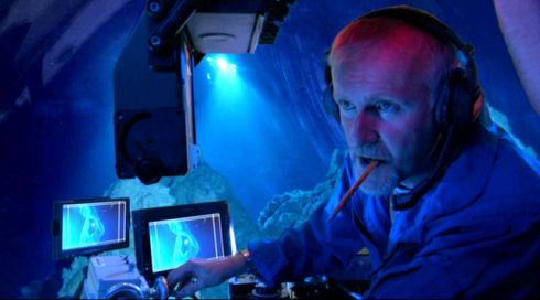James Cameron in «Aliens of the Deep»