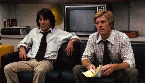 Dustin Hoffman und Robert Redford in «All the President's Men»