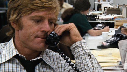 Robert Redford in «All the President's Men»
