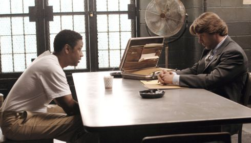 Denzel Washington und Russell Crowe in «American Gangster»