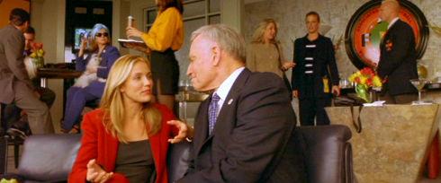 Cameron Diaz und Charlton Heston in «Any Given Sunday»