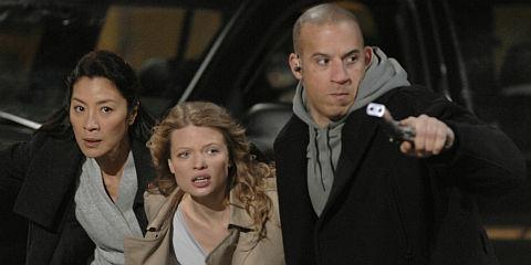 Michelle Yeoh, Mélanie Thierry und Vin Diesel in «Babylon A.D.»