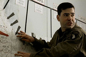 Ron Livingston in «Band of Brothers»