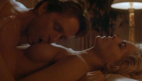 Michael Douglas und Sharon Stone in «Basic Instinct»