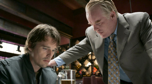 Ethan Hawke und Philip Seymour Hoffman in «Before the Devil Knows Youre Dead»