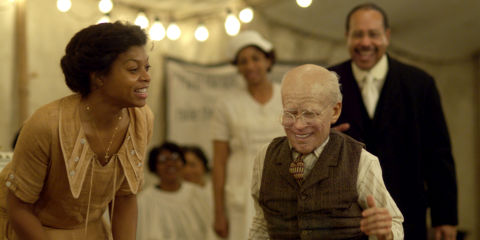 Taraji P. Henson und Brad Pitt in «The Curious Case of Benjamin Button»