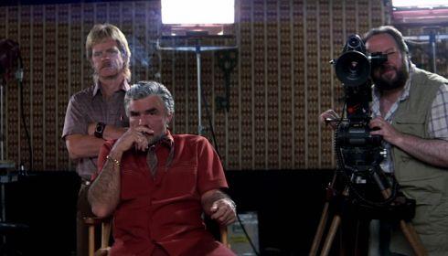 William H. Macy, Burt Reynolds und Ricky Jay in «Boogie Nights»