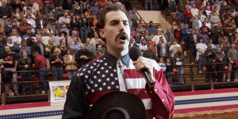 Sacha Baron Cohen in «Borat»