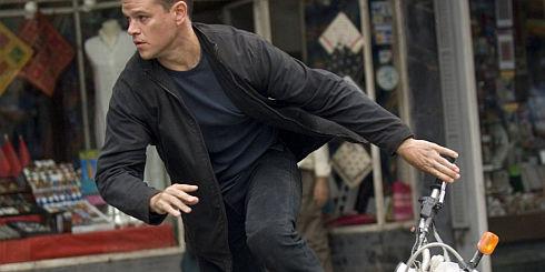 Matt Damon in «The Bourne Ultimatum»