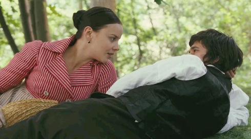 Abbie Cornish und Ben Whishaw in «Bright Star»