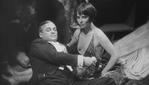 Fritz Kortner und Louise Brooks in «Die Büchse der Pandora»