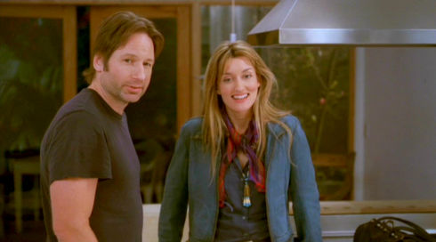 David Duchovny und Natascha McElhone in «Californication»
