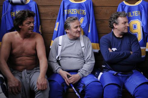 Reto Frischknecht, Andrea Zogg und Marco Rima in «Champions»