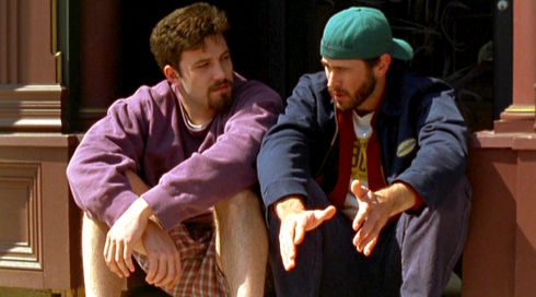 Ben Affleck und Jason Lee in Chasing Amy