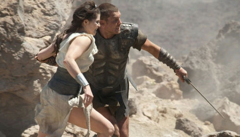 Gemma Arterton und Sam Worthington in «Clash of the Titans»