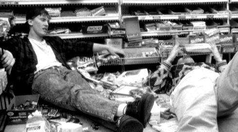 Jeff Anderson und Brian O'Halloran in «Clerks.»