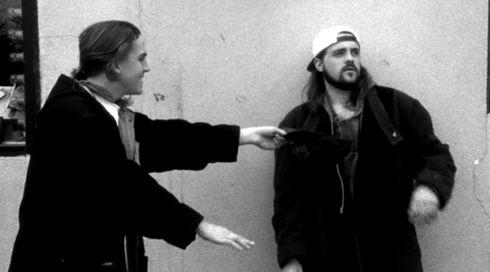 Jason Mewes und Kevin Smith in «Clerks.»
