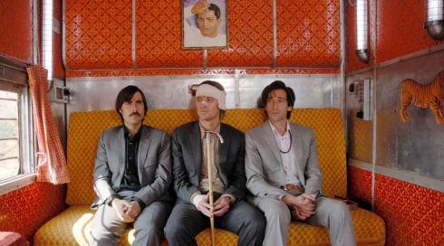 Jason Schwartzman, Owen Wilson und Adrien Brody in «The Darjeeling Limited»