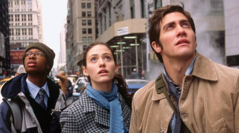 Arjay Smith, Emmy Rossum und Jake Gyllenhaal in «The Day After Tomorrow»