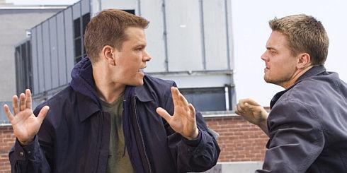 Matt Damon und Leonardo DiCaprio in «The Departed»