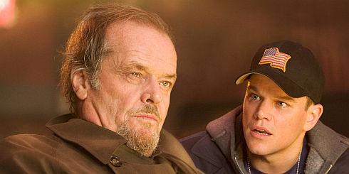Jack Nicholson und Matt Damon in «The Departed»