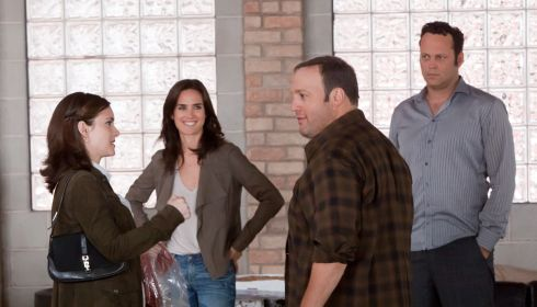 Winona Ryder, Jennifer Connelly, Kevin James und Vince Vaughn in «The Dilemma»