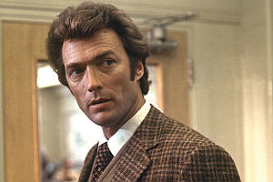 Clint Eastwood in «Dirty Harry»
