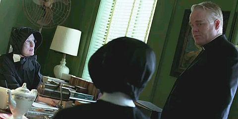 Meryl Streep, Amy Adams und Philip Seymour Hoffman in «Doubt»