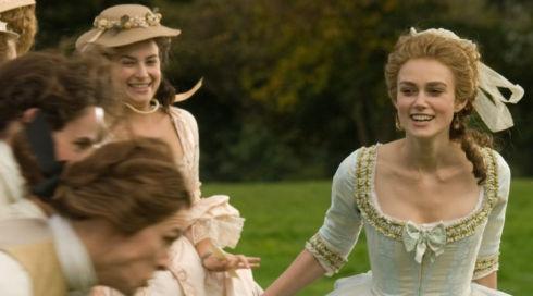 Keira Knightley in «The Duchess»