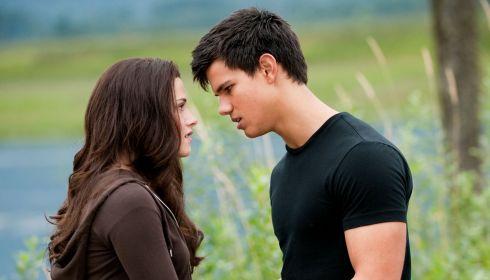 Taylor Lautner und Kristen Stewart in «Eclipse»