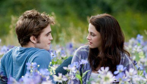 Robert Pattinson und Kristen Stewart in «Eclipse»