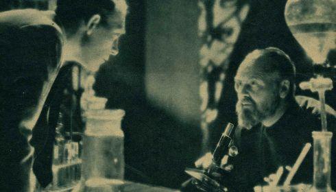 Mathias Wieman und Peter Petersen in «Die ewige Maske»