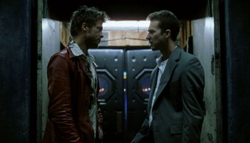 Brad Pitt und Edward Norton in «Fight Club»