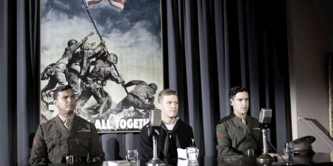 Adam Beach, Ryan Phillippe und Jesse Bradford in «Flags of Our Fathers»