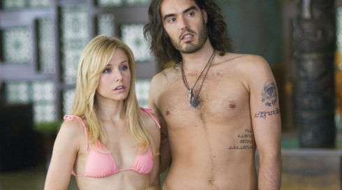 Kristen Bell und Russell Brand in «Forgetting Sarah Marshall»