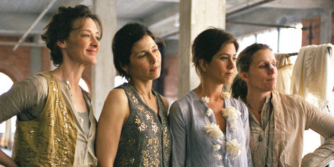 Joan Cusack, Catherine Keener, Jennifer Aniston und Frances McDormand in «Friends with Money»