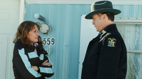 Melissa Leo und Michael O'Keefe in «Frozen River»