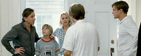 Tim Roth, Devon Gearhart, Naomi Watts, Brady Corbet und Michael Pitt in «Funny Games U.S.»