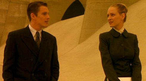 Ethan Hawke und Uma Thurman in «Gattaca»
