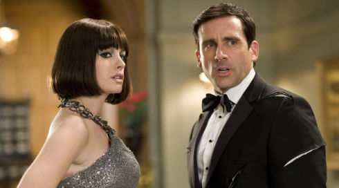 Anne Hathaway und Steve Carell in «Get Smart»