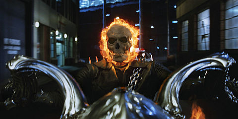 Nicolas Cage in «Ghost Rider»